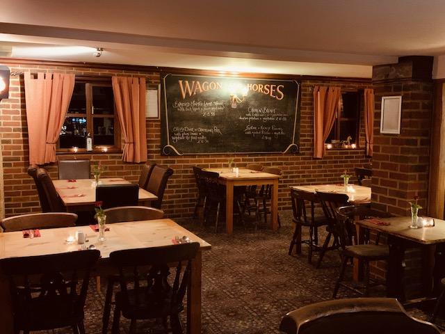 Wagon and horses pub indoors